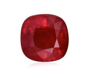 Рубин цвета голубиной крови